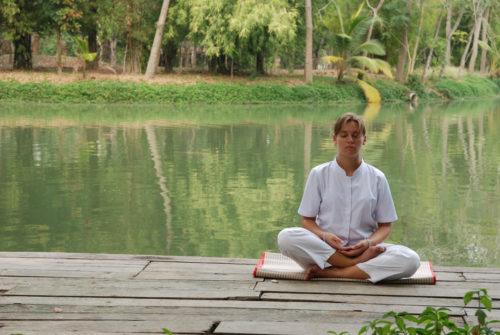 méditation avec objet